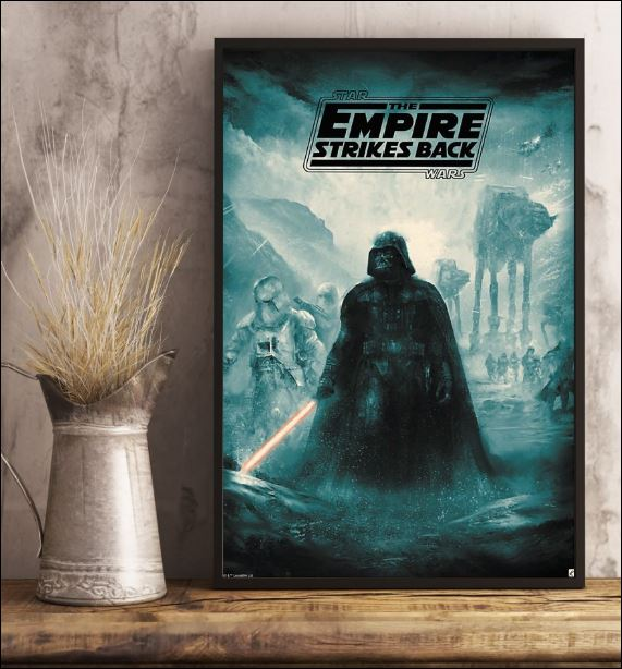 Star Wars the empire strikes back poster 3