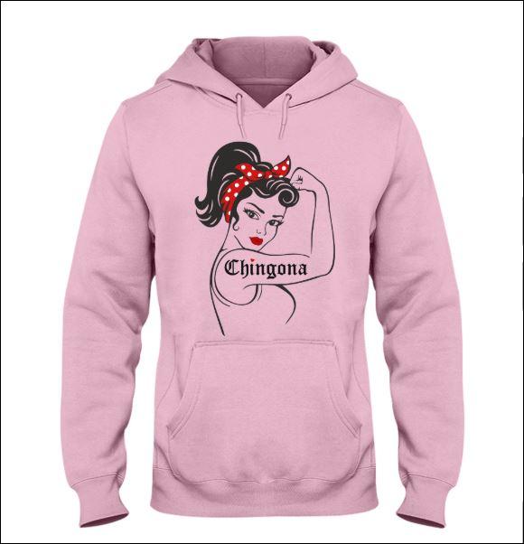 Strong girl Chingona hoodie