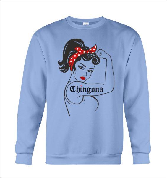 Strong girl Chingona sweater