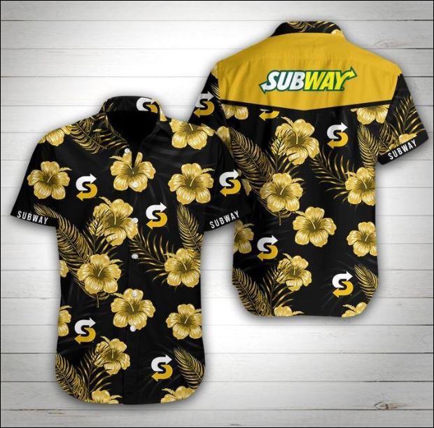 Subway hawaiian shirt