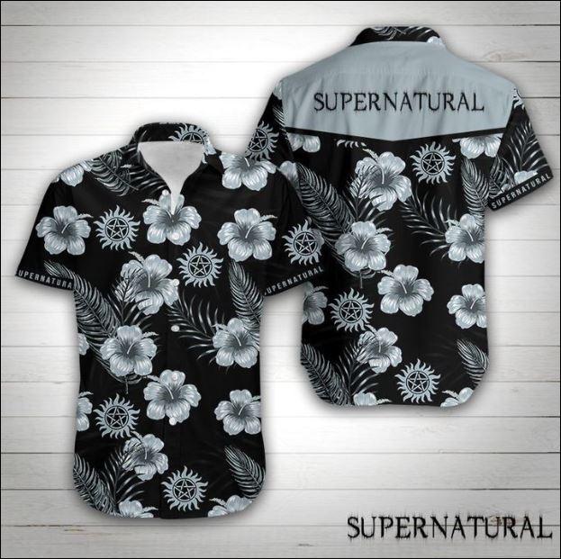 Supernatural hawaiian shirt