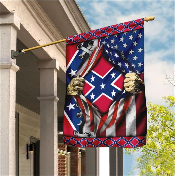 The Confederate Battle American flag