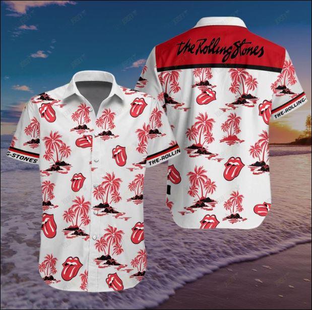 The Rolling Stones Hawaiian shirt