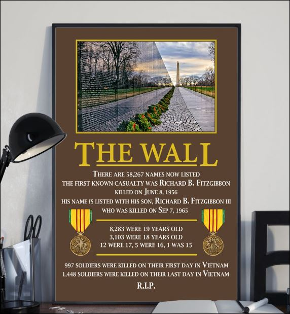 The wall there are 58267 names now listed poster 1