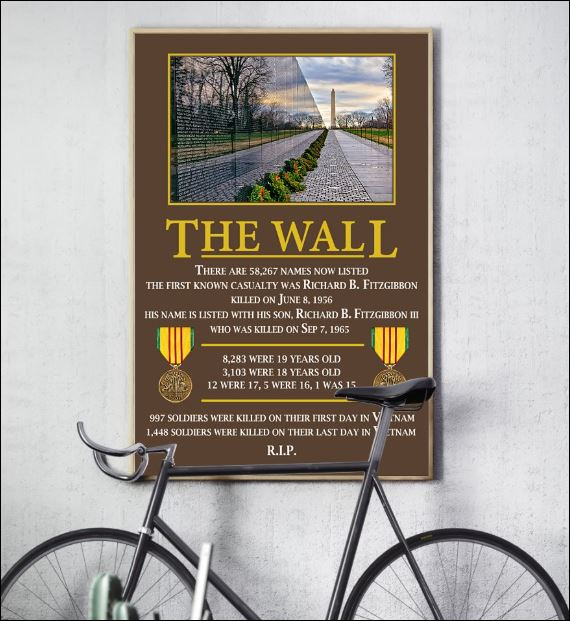 The wall there are 58267 names now listed poster 2