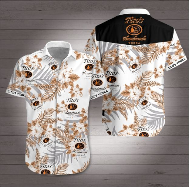 Tito's Vodka Hawaiian shirt