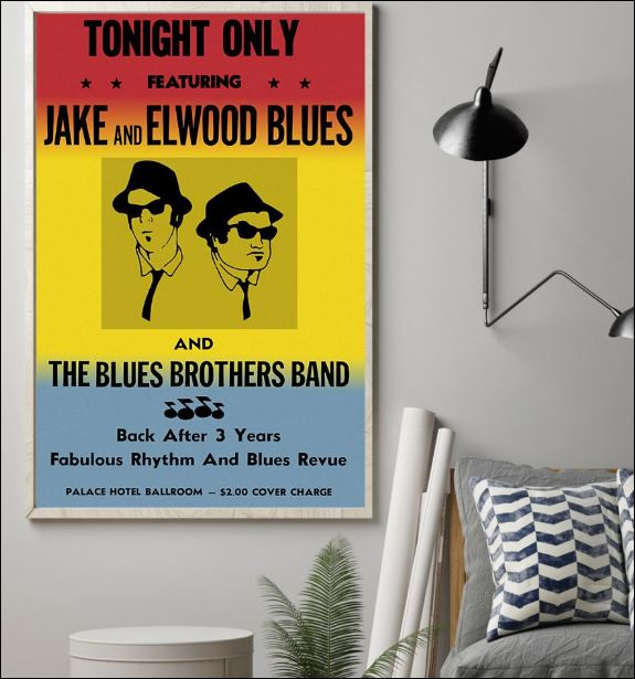 Tonight only featuring Jack and Elwood Blues poster 1