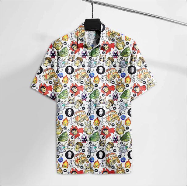Totoro hawaiian shirt