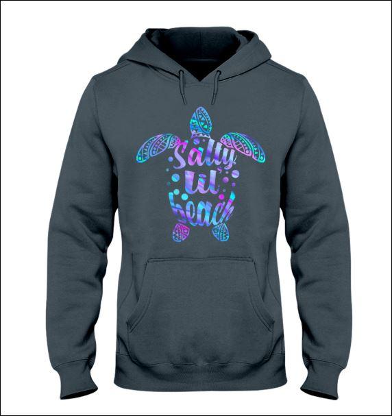 Turtle salty lil beach hoodie
