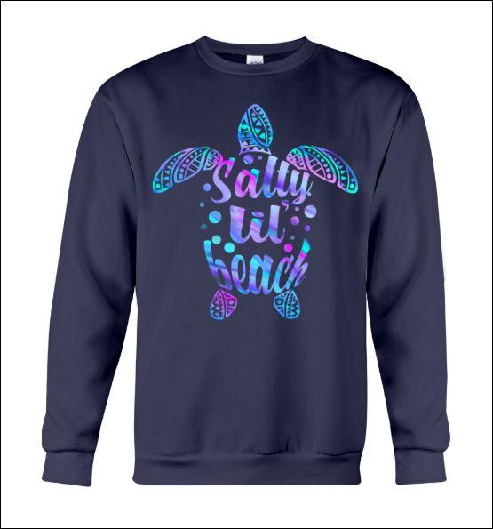 Turtle salty lil beach sweater