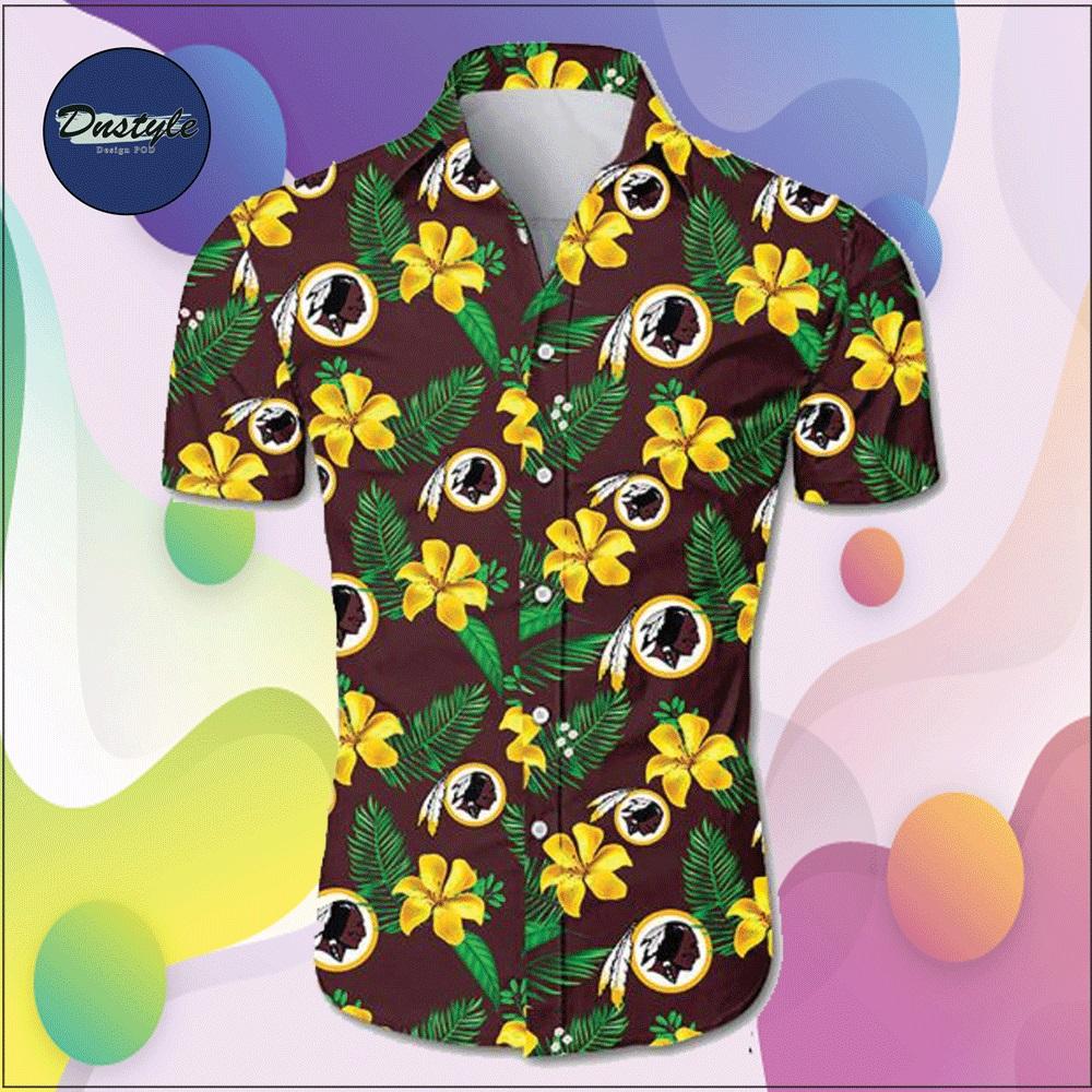 Washington Redskins hawaiian shirt