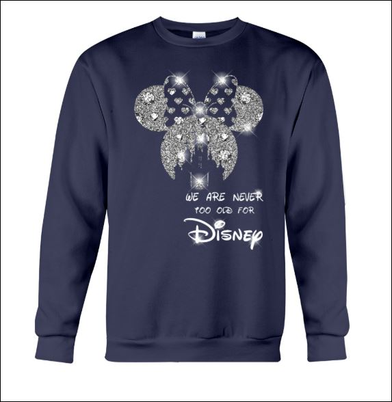 We are never too old for Disney sweater