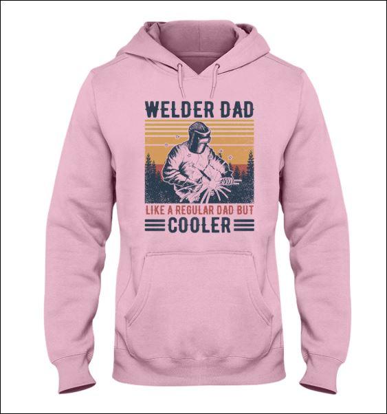 Welder dad like a regular dad but cooler vintage hoodie