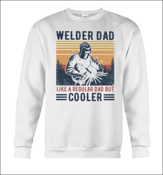 Welder dad like a regular dad but cooler vintage sweater