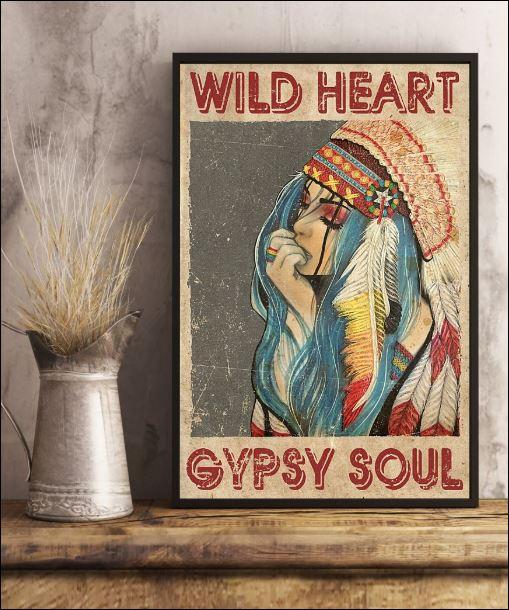 Wild heart gypsy soul poster 2