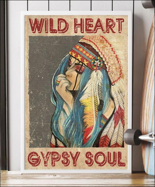 Wild heart gypsy soul poster 3