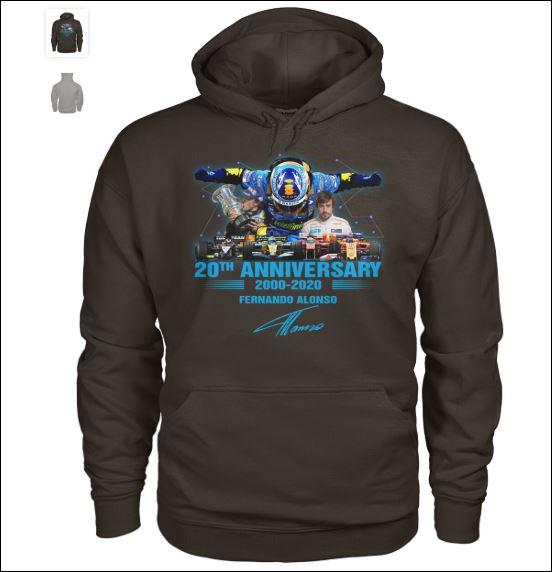 20th anniversary 200 2020 Fernando Alonso hoodie