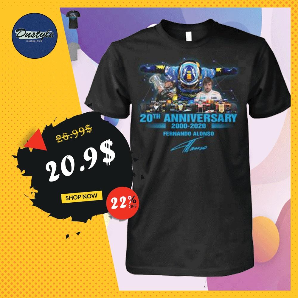 20th anniversary 200 2020 Fernando Alonso shirt