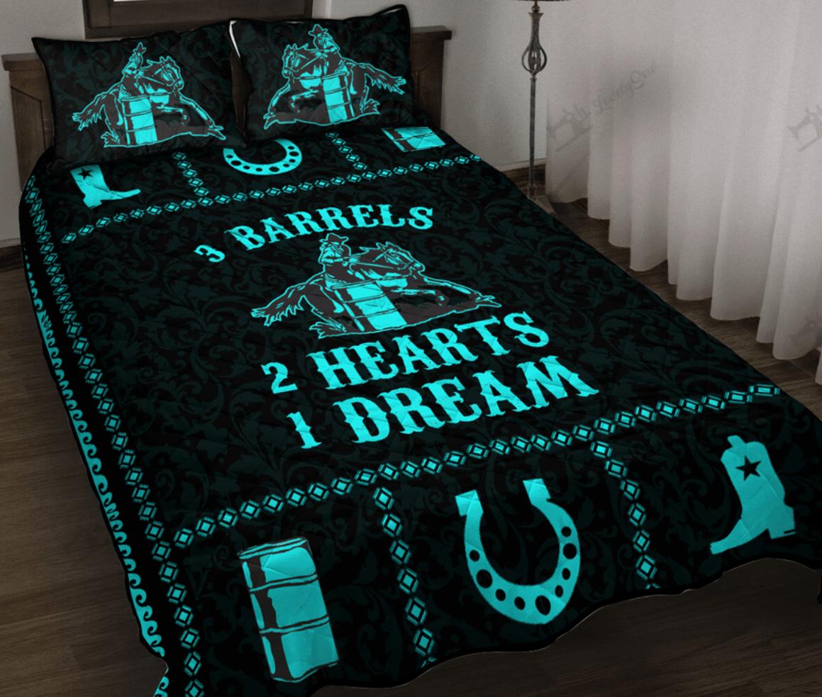 3 barrels 2 hearts 1 dream bedding set 1