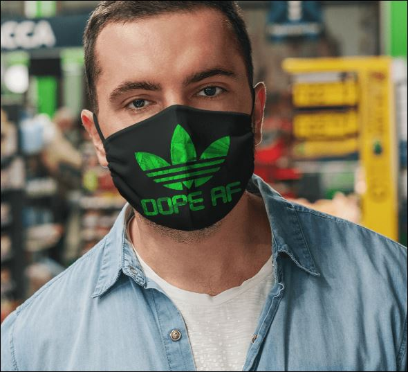 Addias dope af face mask