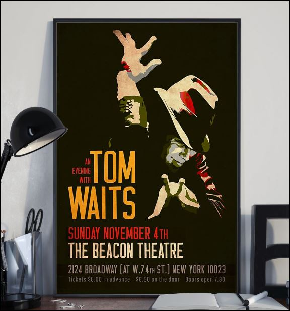 An evening with Tom Waits poster 2