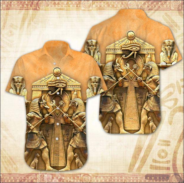 Ancient Egyptian Hawaiian shirt