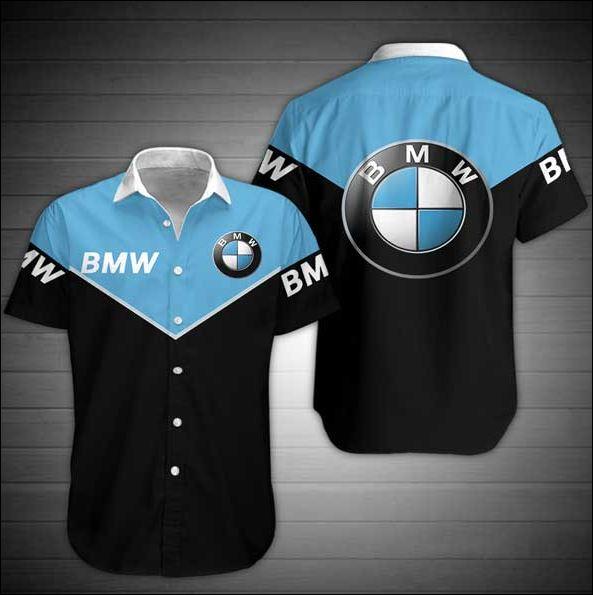 BMW hawaiian shirt