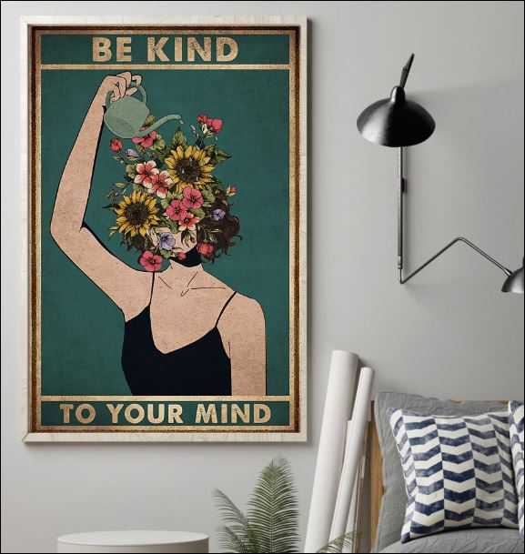 Be kind to your mind poster 1