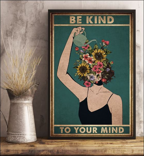 Be kind to your mind poster 3