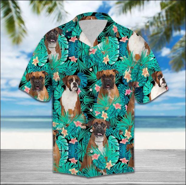 Boxer Tropical hawaiian shirt