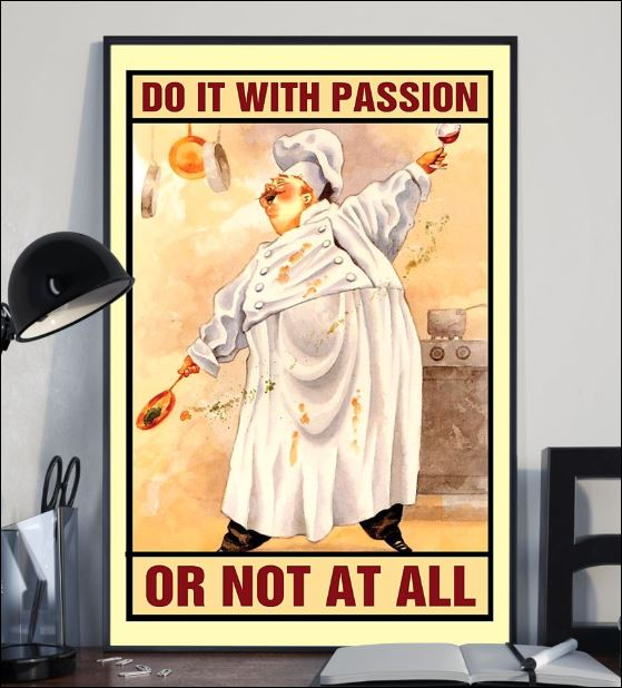 Chef do it with passion or not at all poster 2