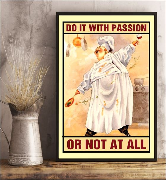 Chef do it with passion or not at all poster 3