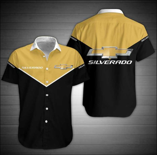 Chevrolet Silverado hawaiian shirt