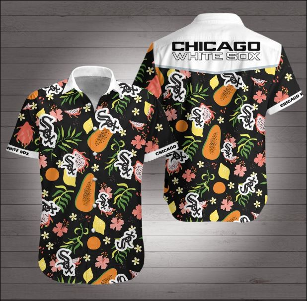 Chicago white sox tropical hawaiian shirt