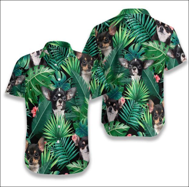 Chihuahua Tropical hawaiian shirt