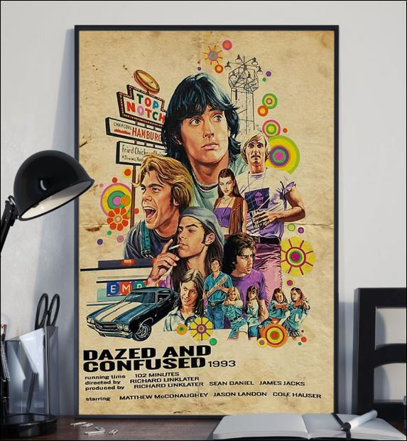 Dazed and confused 1993 poster 2