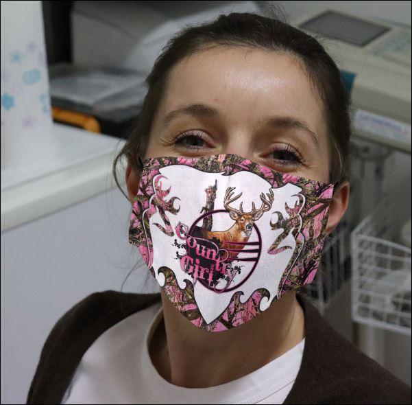 Deer country girl face mask