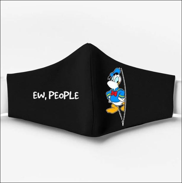 Donald Duck ew people face mask