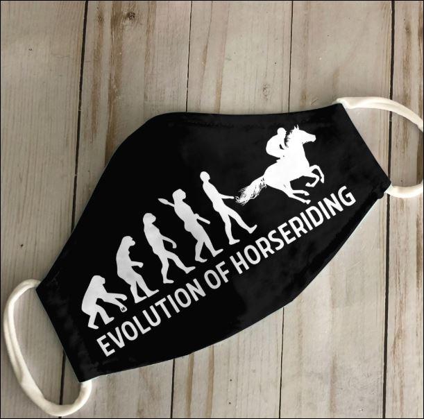 Evolution of horseriding face mask