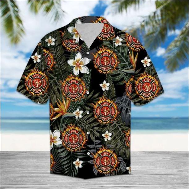 Fightfighter tropical hawaiian shirt