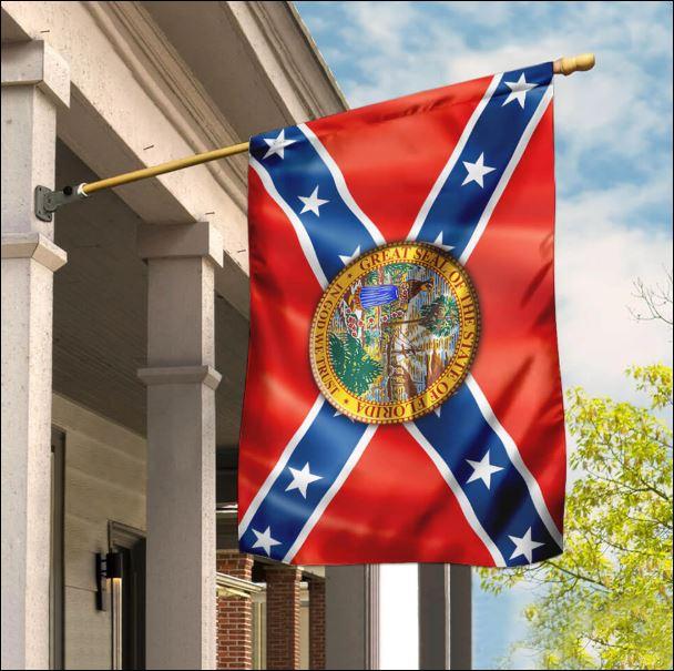 Florida Confederate American flag
