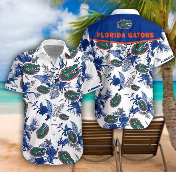 Florida Gators tropical hawaiian shirt