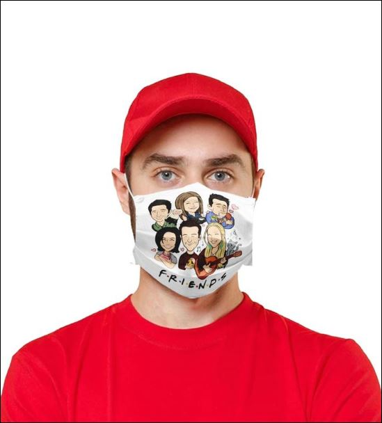 Friends chibi face mask