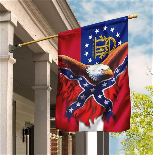 Georgia Confederate American flag