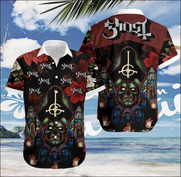 Ghost BC hawaiian shirt