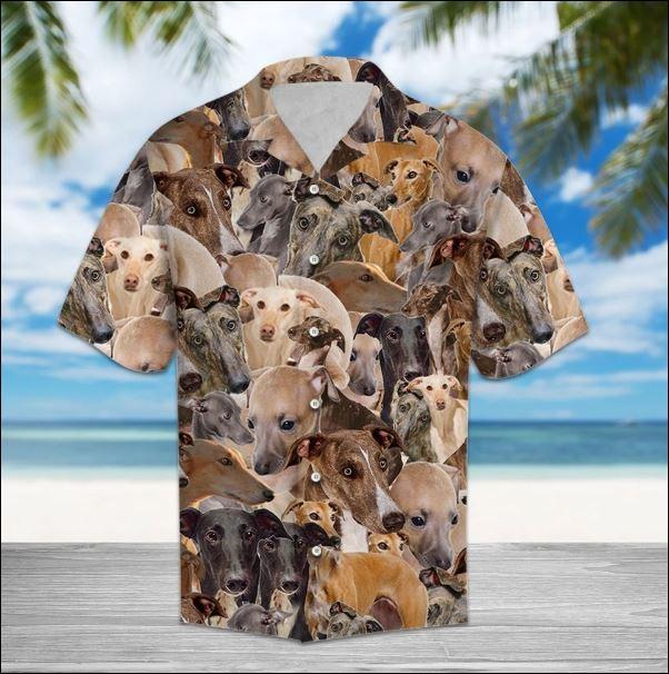 Greyhound hawaiian shirt
