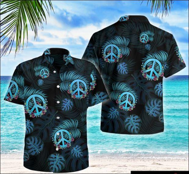 Hippie tropical hawaiian shirt