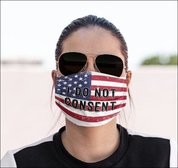 I do not consent face mask