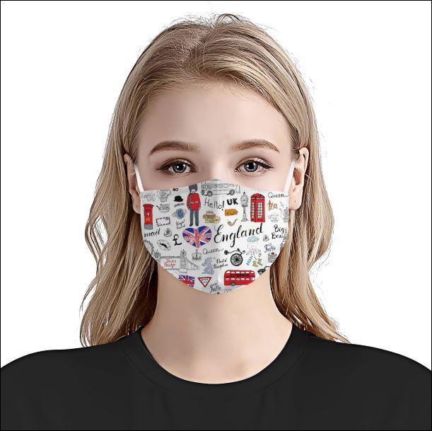 I love England face mask