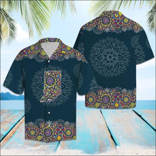 Indian Mandala hawaiian shirt